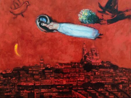 Manuel Terán Tributo a Marc Chagall