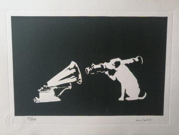 Banksy HMV Dog